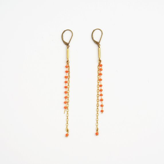 French beads Earrings # 02