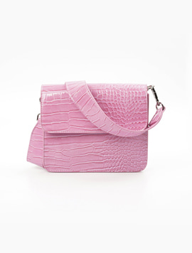 Hvisk Cayman Shiny Strap Bag Pastel purple 스트랩크로스백