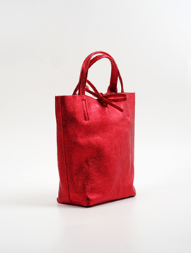 Red shopper bag S