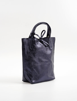 Navy shopper bag S