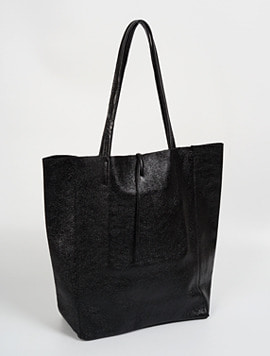 Black shopper bag - Large