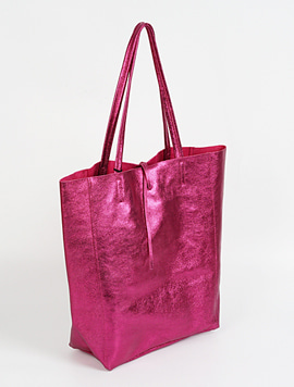 Pink shopper bag - Large