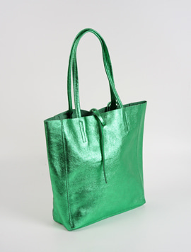 Green shopper bag M